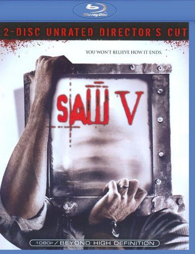 Saw V [Unrated] [Director's Cut] [2 Discs] [Blu-ray] [2008]