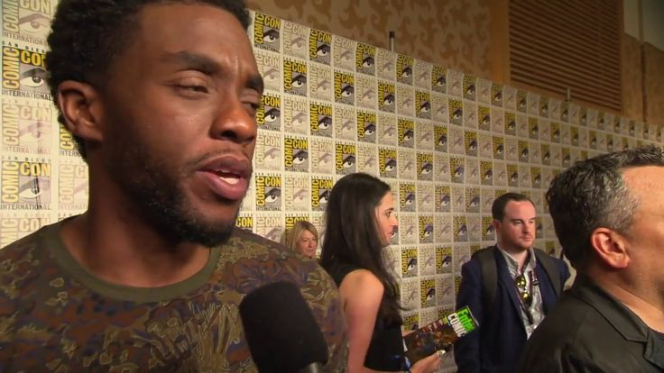 Black Panther: Chadwick Boseman Comic-Con 2017 Movie Interview