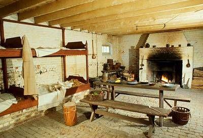 Mt Vernon Slave Quarters Virginia USA