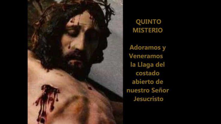 Rosario o Coronilla de las llagas de Jesús Padre Moises Lárraga ( con su...