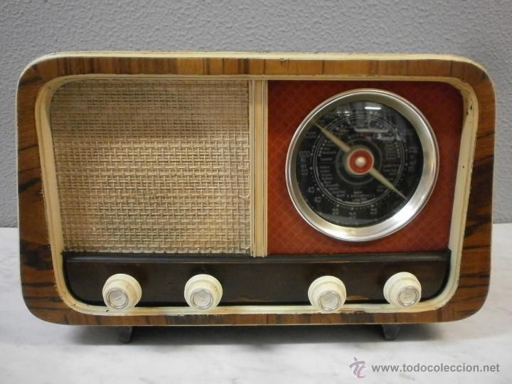 antigua radio vintage radio de v lvulas siglo xx radios gram fonos grabadoras y otros. Black Bedroom Furniture Sets. Home Design Ideas