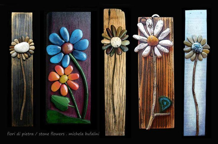 Rocks and daisy crafts!