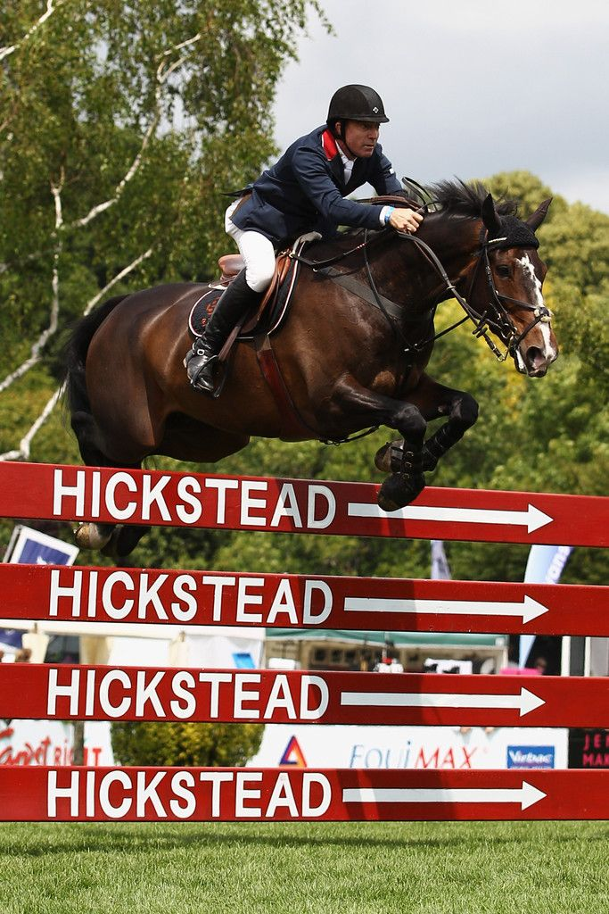 Michael Whitaker Photos: British Jumping Derby Meeting