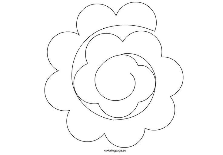 modele cv fleurs de rose