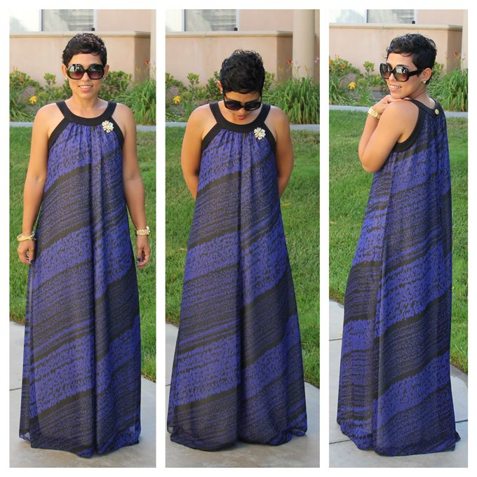 mimi g maxi dress pattern zebra