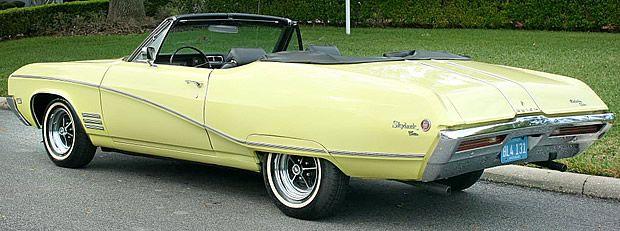 1968 Buick Skylark Convertible Rear View
