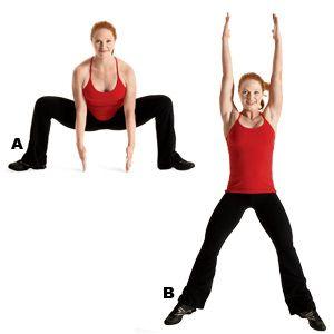grand plie squat reach  jump  builds lowerbody