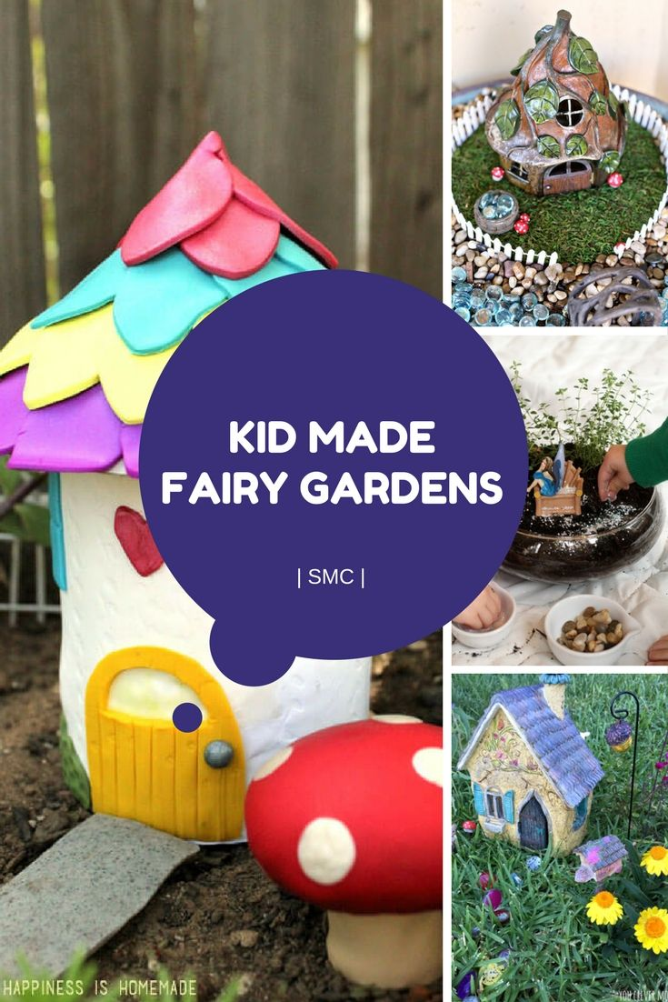 40 best images about Fairy Gardens for Kids! on Pinterest