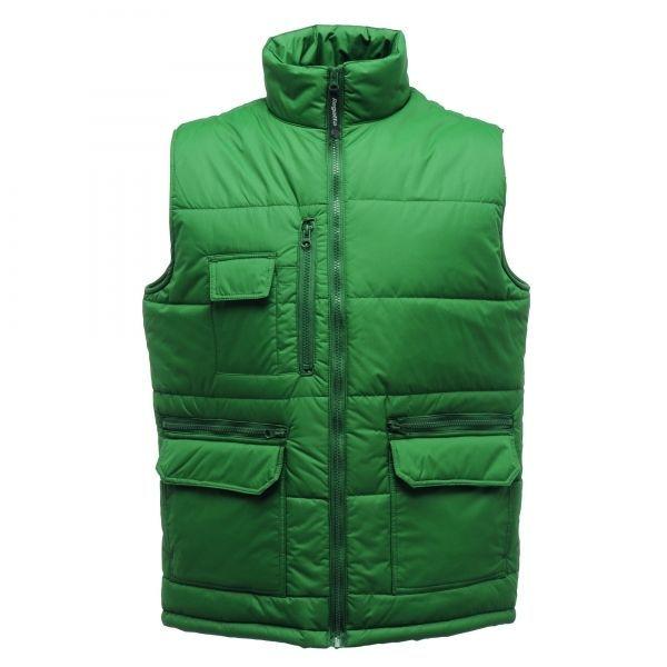 Regatta Mens Steller Warm Lined Insulated Bodywarmer Green XXL #Regatta