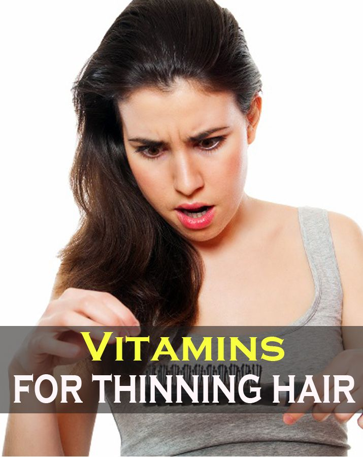Vitamins for thinning hair - Guide for your hair