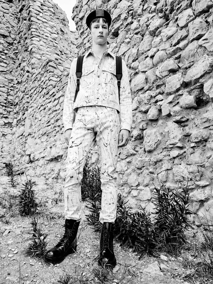 #ROEL at Tomorrow Is Another Day in Louis Vuitton Total Look is shot by Alessandro Dal Buoni, styled by Matteo Greco, groomed by Daniela Magginetti at Close Up Milano using TIGI and casted by Stefania Perna.