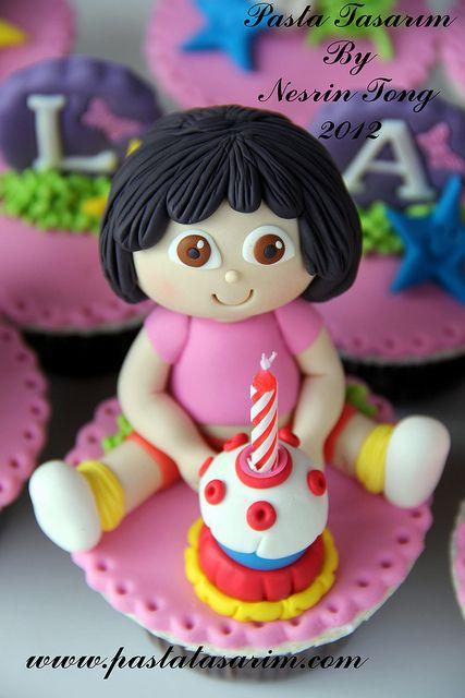 DORA CUPCAKES - ILAYDA BIRTHDAY by CAKE BY NESRİN TONG, via Flickr