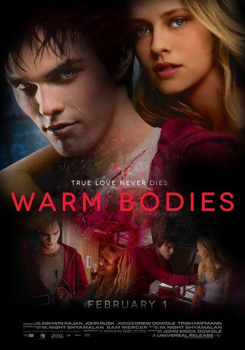 Warm Bodies (2013).  Nicholas Hoult, Teresa Palmer. Zombies | Romance | Comedy.