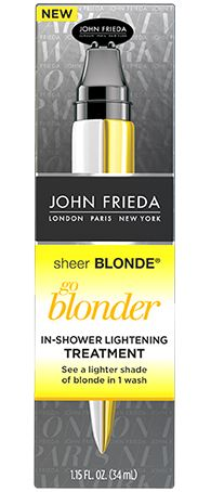 Sheer Blonde Go Blonder Colour Correct Treatment from the John Frieda® Hair Care experts
