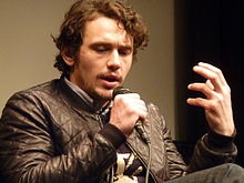 While I wait for Blackboard grade centre to load I will pin James Franco, actor and PhD student. Teaching. Feel the sincerity. Loving it.