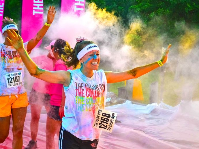 The Color Run Bild