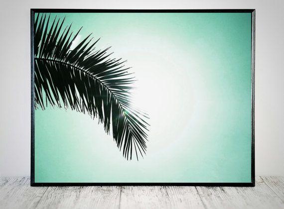 Palm Print Palm Tree kunst tropische Art Print door CristylClear