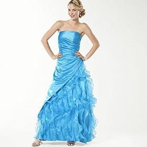JCPenney Prom Dresses Aqua
