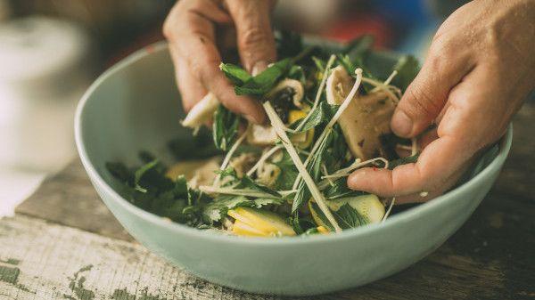 pickled mushrooms salad