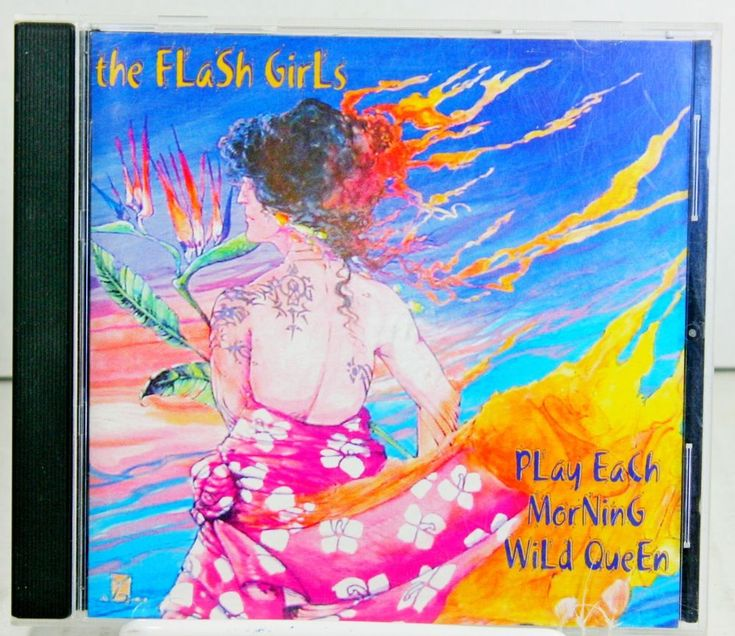 Play Each Morning Wild Queen Folk Music CD by The Flash Girls Goth Celtic  #ContemporaryFolkElectricFolkIndieFolkProgressiveFolkTraditionalFolkCeltic