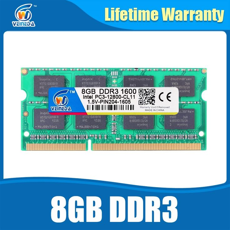 47.14$  Know more  - 8GB DDR3 Memory Ram ddr3 1600 PC3-12800 Sodimm Ram ddr 3 For Laptop Lifetime Warranty