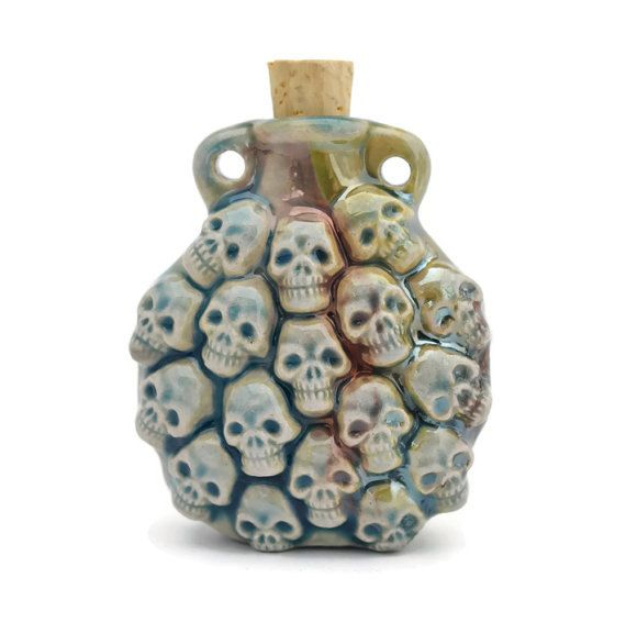 28 Best Skull Perfume Bottles Images On Pinterest: Cremation Jewelry, Cremation Urns And Urn