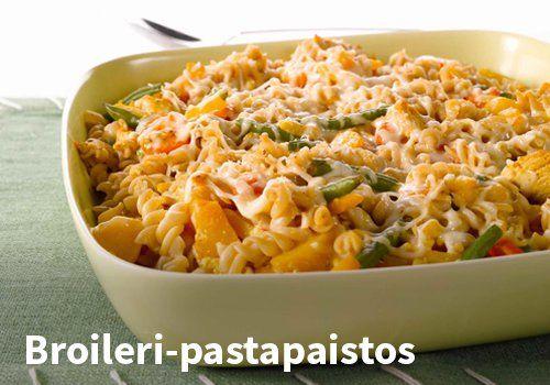 Broileri-pastapaistos Resepti: Valio #kauppahalli24 #ruoka #resepti #pastapaistos