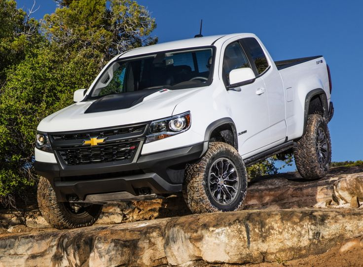 2017 Chevrolet Colorado ZR2 Extended Cab 2017
