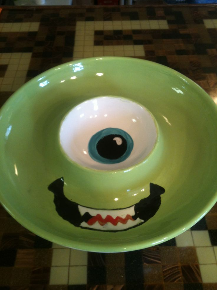 How do you like your chips & salsa? Pottery Painting IdeasCeramic ...