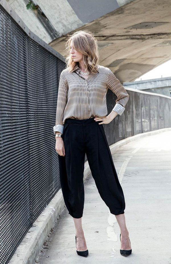 Apartment 34 | Monday Work Wear: {Trend to Try – Harem Pants!}