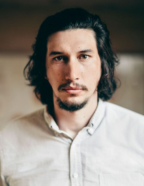 Say that our love ain't water under the bridge // beautiful cinnamon roll & puppy Adam Driver