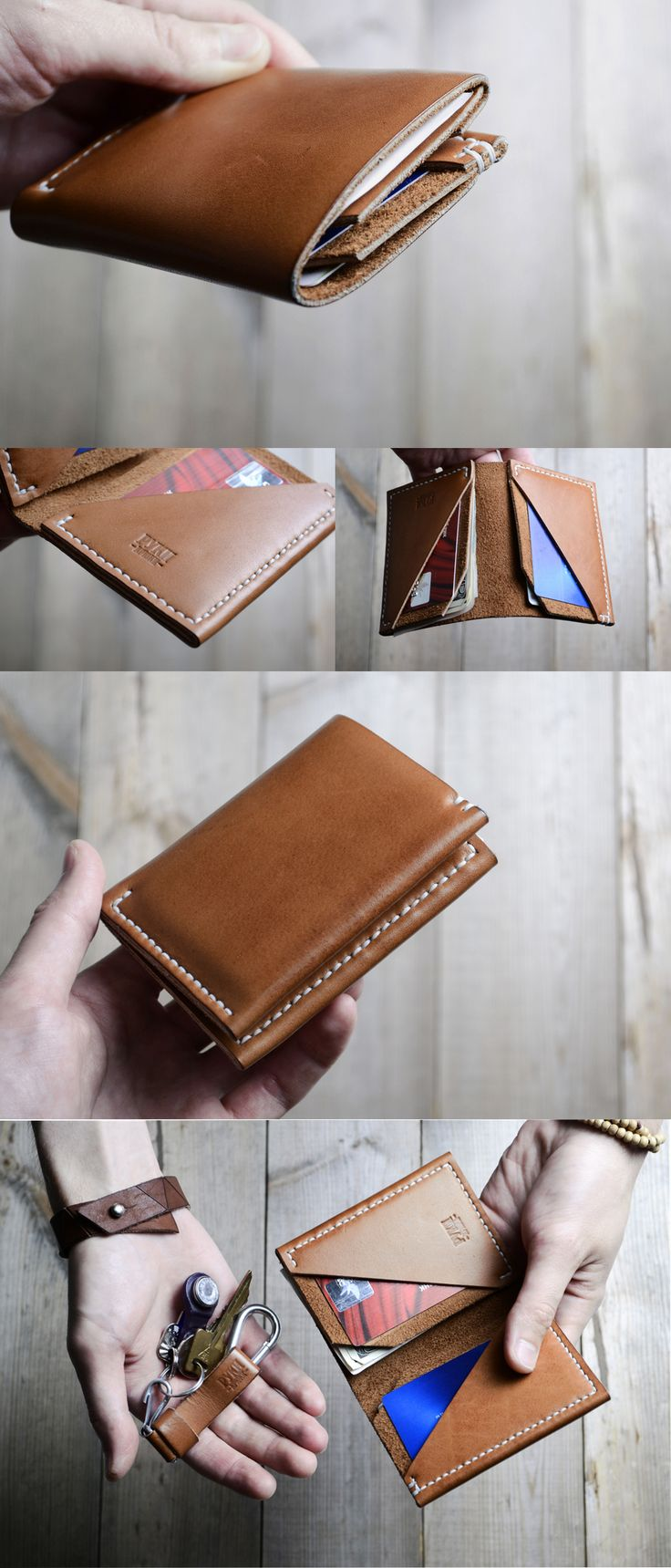 Wallet N4 in use https://www.etsy.com/listing/159802852/wallet-n4-natural-waxed-mink-oil