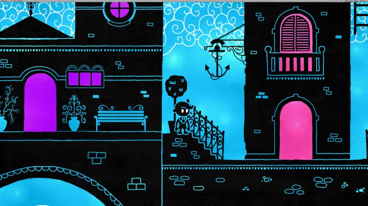 Hue, Illustrated Puzzle-Platformer