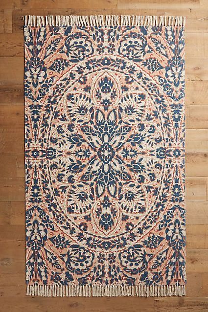 Bring bohemian flair with world textiles in kaleidoscopic patterns and colors. Later rugs, throws, and pillows to indulge your wanderlust spirit.
