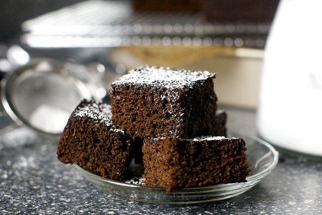 #Gingerbread brownie cake