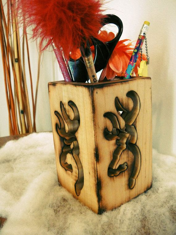 Browning utensil holder (they're using it for pens, but I'd use it for cooking utensils)