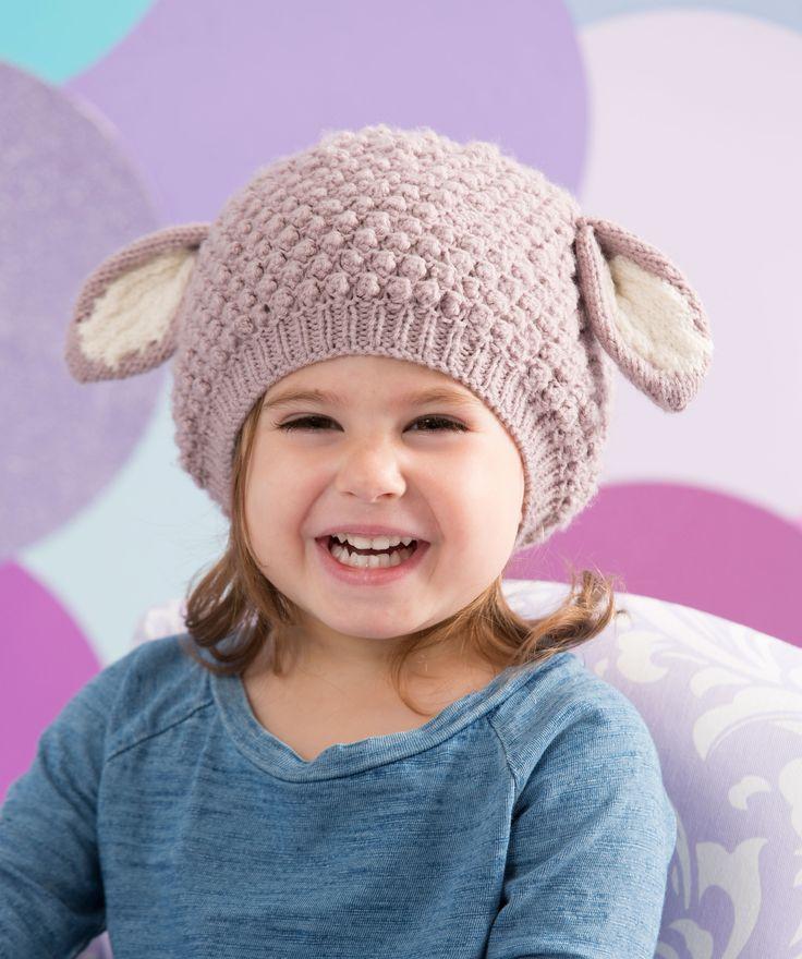 Cosy Lamb Hat free knit, thanks so xox