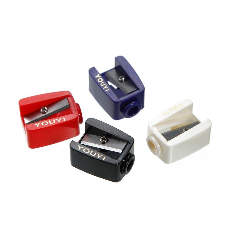"""Maquillaje Lápiz Delineador de ojos Sacapuntas de plástico Rectángulo color Al Azar 28mm (1 1/8 """") x 21mm (7/8""""), 1 Unidades"""