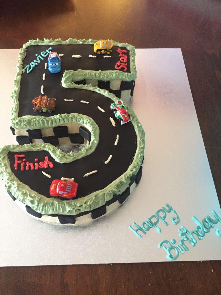 Zavier's 5th birthday cake!