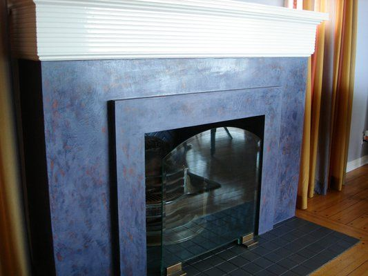 Fav Fireplace Home Nautical Pinterest Venetian Plaster And Fireplaces