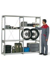 Scaffali industriali Fami Storage Systems per lo stoccaggio di materiale vario