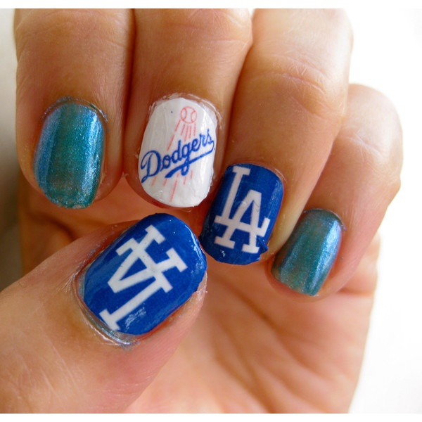 Dodger Nail Designs Best Nail Designs 2018