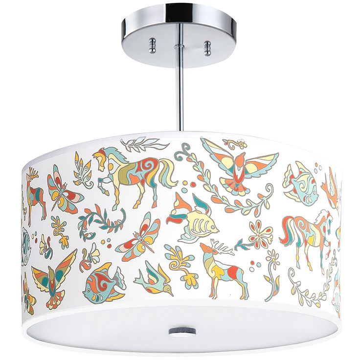 Magical dreams light fixture 16 inches 3 light childrens