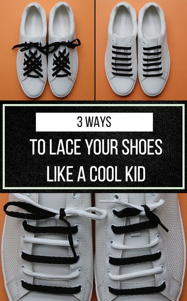 Walk The Walk With These 3 Neat Shoelace Patterns