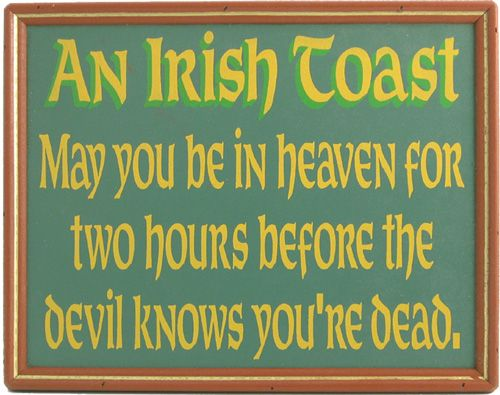 Northwest Gifts - Irish Blessing Plaque  (http://northwestgifts.com/products/Irish-Blessing-Plaque.html)
