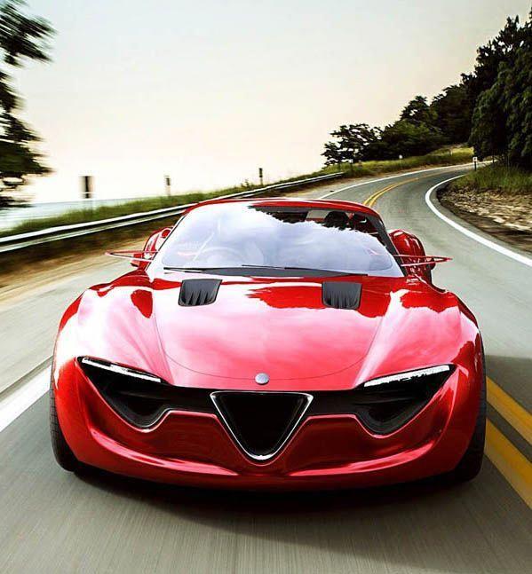 Alfa Romeo 6C Concept #alfaromeo