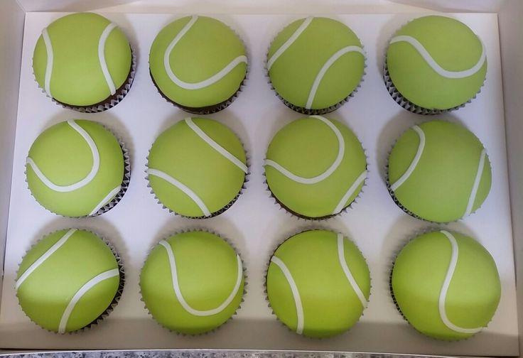 Tennis Ball Cupcakes                                                       …