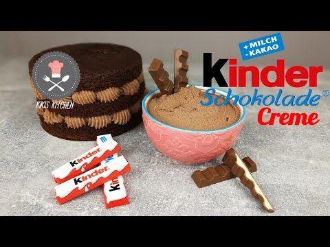 Kinderschokolade Buttercreme selber machen für Fondant tauglich Kuchen Backen T… – einfache Desserts