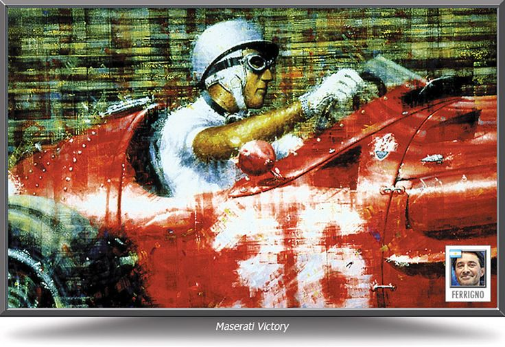 Maserati Victory by Juan Carlos Ferrigno - $195 print