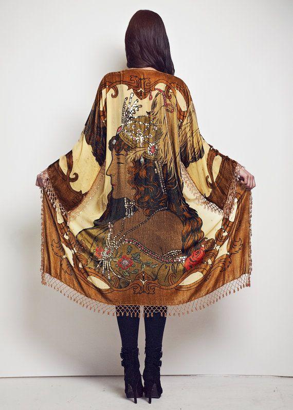Gypsy Woman Kimono Jacket - The Gypsy Dream